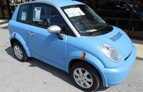 Think Electric Car by 2012 Think City Ebay Motors