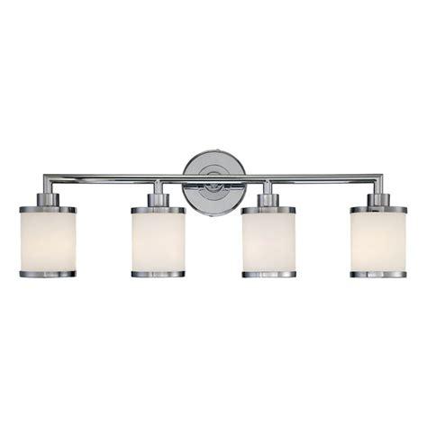 shop millennium lighting 4 light chrome standard bathroom