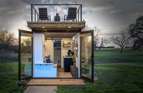 texas company  turning shipping containers