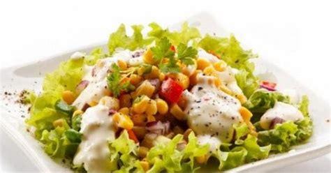 membuat salad sayuran lezat resep masakan praktis