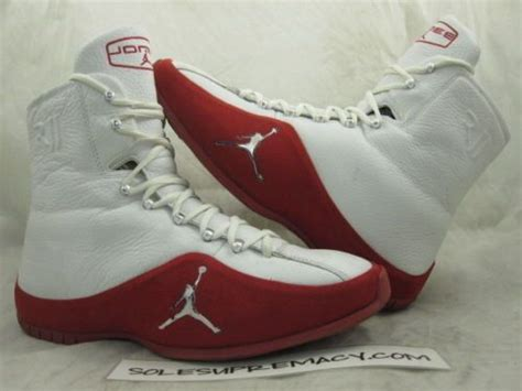 Nike Air Jordan Boxer I Xi White Red Roy Jones Jr Pe 12