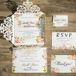 flower wedding invitations wedding colors 2016 10 color combination ideas to