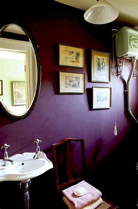 Purple Paint Colors For Bathrooms by We Want To Move Into Farrow S Dreamy Fall Editorial