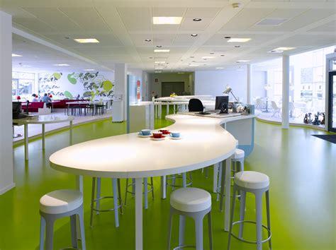 Fresh Green Office Interior Design