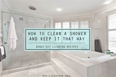 Best Way To Clean Marble Shower by How To Clean A Shower And Keep It That Way Diy Recipes