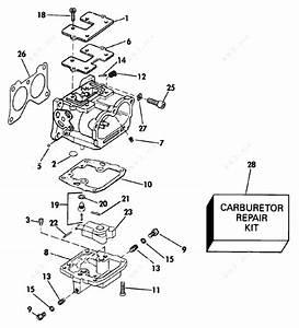 Johnson 1991 90 - Tj90tleie  Carburetor