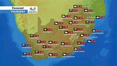 Weather Forecast August Enca Service Thursday Provided