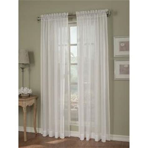 Kmart Sheer Curtain Panels by Sheer Curtain In White Casual Drapes At Kmart And Sears