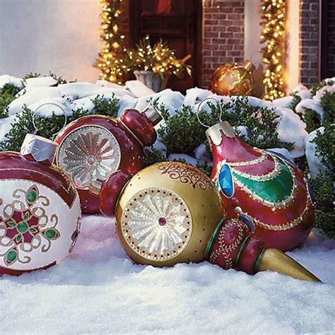 30 outdoor decorations ideas 2018 home decor idea - Christmas Outdoor Decorations Ideas