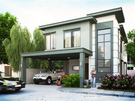 2 Storey Home Designs : Inspired Philippines House + Plan