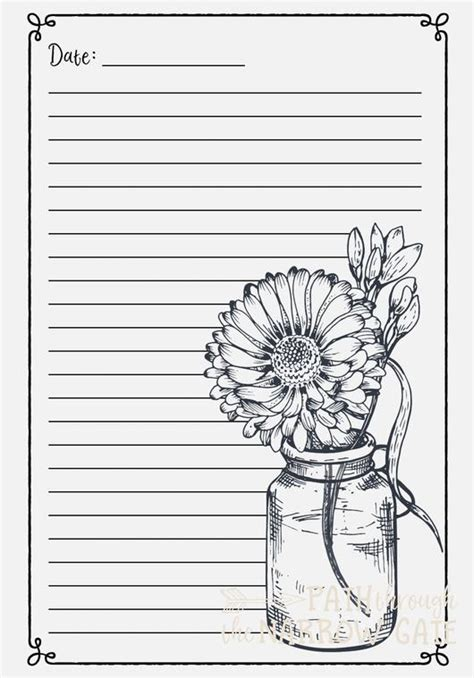 Coloring Journal by Meditations Prayer Journal And Coloring Pages