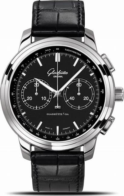 Glashutte Senator Watches Chronograph Xl Quintessentials Alux