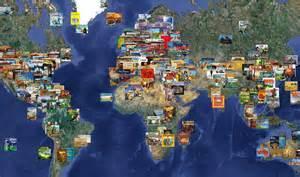 World Map Board Games