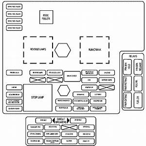 Cadillac Xlr  2009  - Fuse Box Diagram