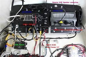 Splicing External Vhf Speaker Wire