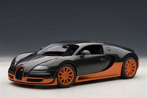 Bugatti Veyron Sper Sport by Autoart Die Cast Model Bugatti Veyron Sport W Orange