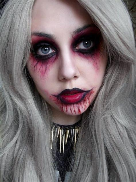 halloween punk vampire makeup ideas  girls  learn   halloween makeup maquiagem