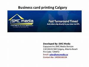 Business card printing calgary for Business card printing calgary