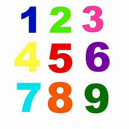 Numbers Colors