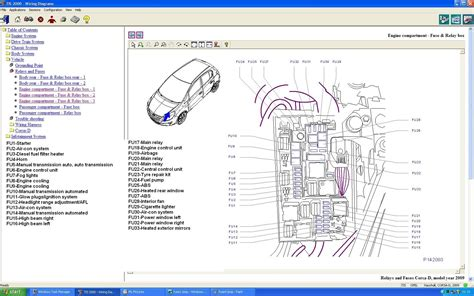 opel vectra b wiring diagram wiring library
