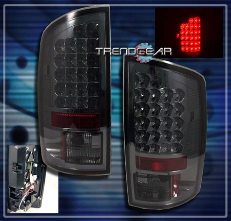 2007 dodge ram tail lights 2007 2008 dodge ram 1500 2007 2009 2500 3500 truck led