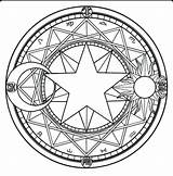 Pentagram Coloring Pages Printable Wiccan Getcolorings Sketch Colouring sketch template