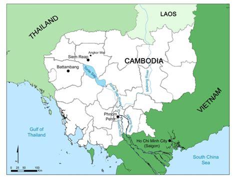 map  cambodia  scientific diagram