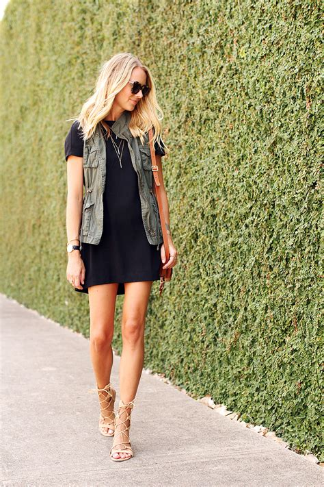 Utility Vest And Lbd Fashion Jackson