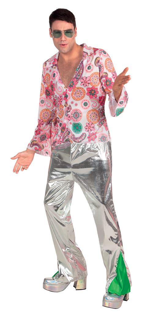 1970s Disco Fever Mens Fancy Dress 70s Retro Funky Dancer ...