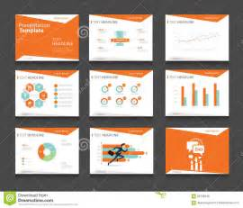 power point designs orange infographic business presentation template set powerpoint template design backgrounds