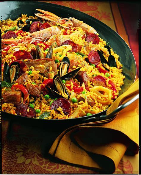 cuisine traditionnelle espagnole recette la paella d adrienne