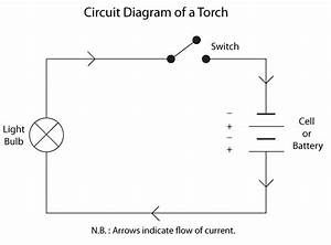 Simple Circuit Diagram Of A Torch