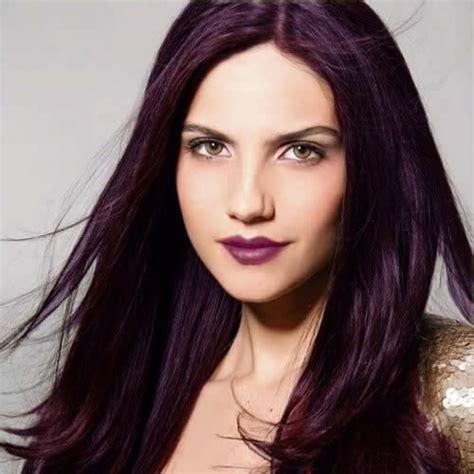 50 belles id 233 es de couleur de cheveux prune couleurs couleur prune cheveux couleur cheveux