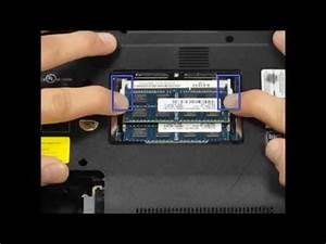 Install And Remove New Ram To Sony Vaio E Series Laptop