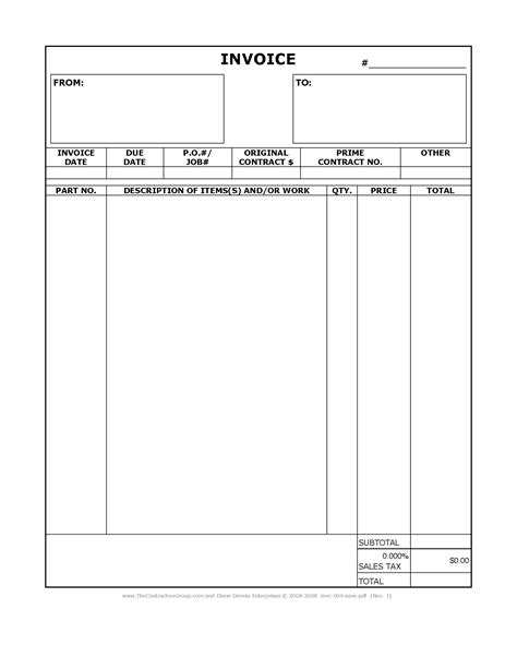 construction invoice    ultimate guide