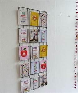 Porte Carte Postale Mural : vente flash chez lovely tape ~ Teatrodelosmanantiales.com Idées de Décoration