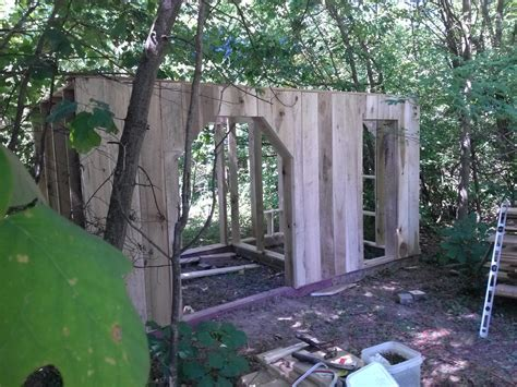 A Tool Shed Hill by Building A Tool Shed Chicken Coop House On The Hill