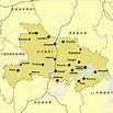 Wuhan Maps with Yellow Crane Tower & Yangtze River