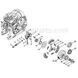 stihl ms  chainsaw ms rz parts diagram