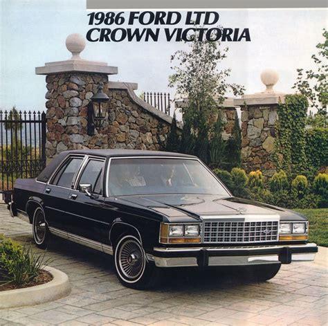 1986 Ford Crown Victoria brochure