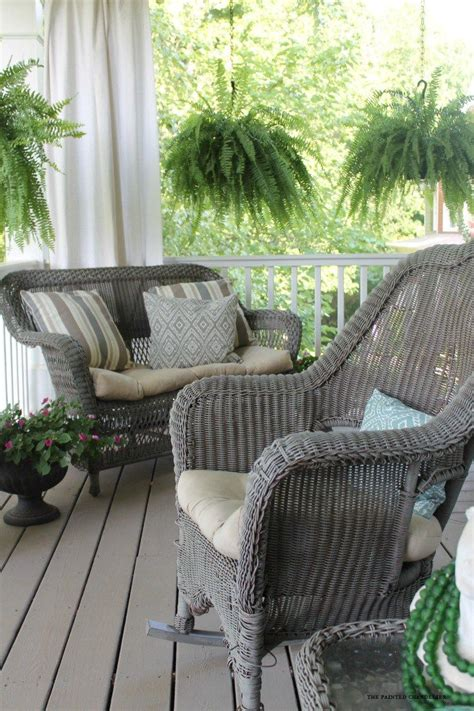 paint colors for wicker furniture my 2 favorite paint colors for creating a weathered gray