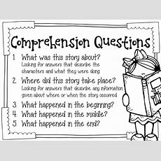Fifth Grade Freebies Monitoring Basic Reading Comprehension {with The Primary Gal}