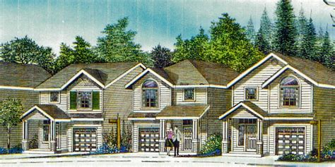 Narrow House Plan At 22 Feet Wide Open Living 3 Bedroom 2