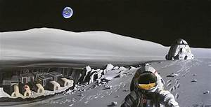 Russia, USA & Europe Manned Moon Base   David Reneke ...