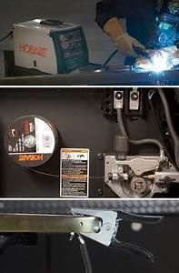 Hobart Handler 140 Flux Mig Welder  U2014 Transformer