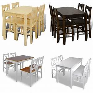 Esstisch Stühle Ikea : holztisch esstisch sitzgruppe essgruppe tischset esszimmer esstischset 4 st hle ebay ~ Avissmed.com Haus und Dekorationen