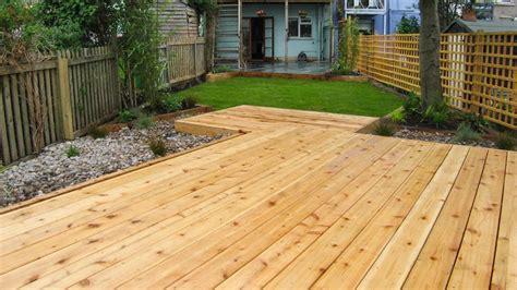 floating deck garden peak garden design in sheffield
