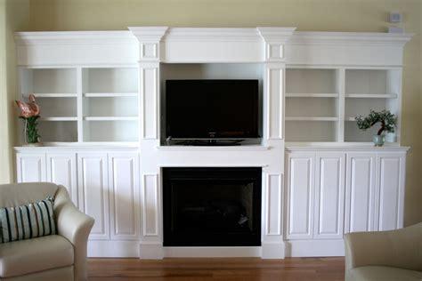 Electric Fireplace Bookshelves