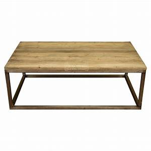 extra large reclaimed pine wood coffee table with metal With wood top coffee table metal legs
