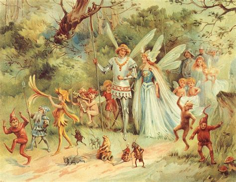 Fairy King Queen Public Domain Super Heroes
